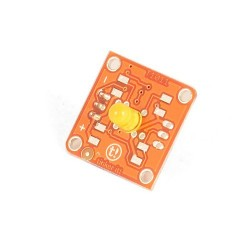 TinkerKit Yellow Led [5mm] module
