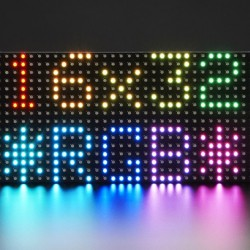 Medium 16x32 RGB LED matrix panel Pixel Pitch: 6mm
