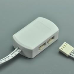 LED RGB Junction Box 4Pin LED RGB Adapter Junction Box