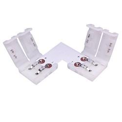 10MM L Shape Snap Down 5050/5630 LED Strip connector