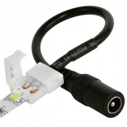 8MM Strip LED connector with DC Plug (for SMD 3528 series)