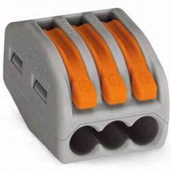 28-12 GA Lever-Lock Quick Connect Terminal Blocks 3pin