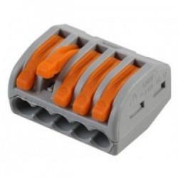 28-12 GA Lever-Lock Quick Connect Terminal Blocks 5pin