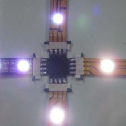 "8MM ""+"" Type LED connector (for SMD 3528 series)"