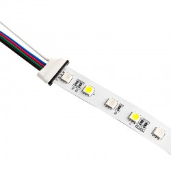 8MM Strip to Strip with wire LED connector