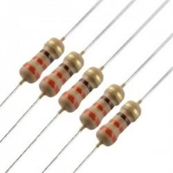 10X220ohm 1/4w resistor