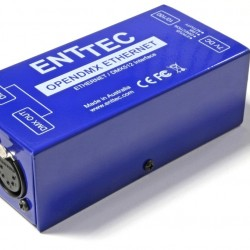 Open DMX Ethernet with poe Enttec