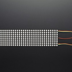 Flexible LED matrix-8x32 pixels