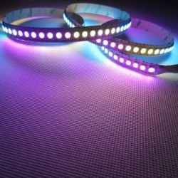 RGB digital led strip APA102 144 leds meter 172w - 5 meters