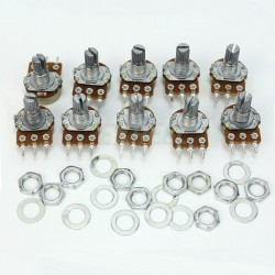 10x10K potentiometers