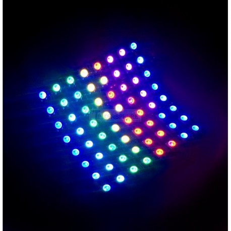 Flexible LED matrix 8*8