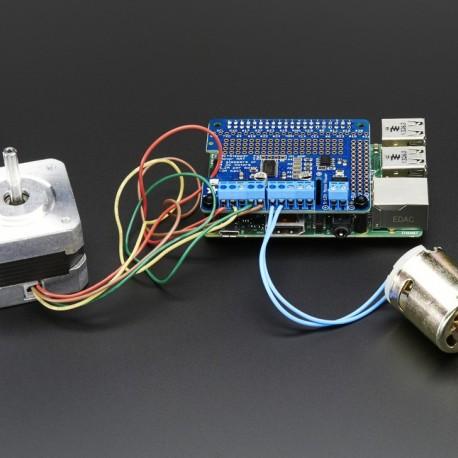 Adafruit DC & Stepper Motor HAT for Raspberry Pi - Mini Kit