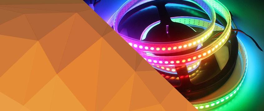APA102 LED STRIP 144 LED/m