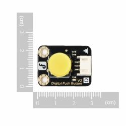 Gravity:Digital Push Button (Yellow)