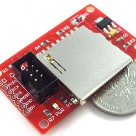 SPI SD Memory Shield