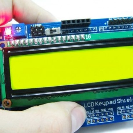 Keypad LCD Shield V2 0 -Arduino Compatible