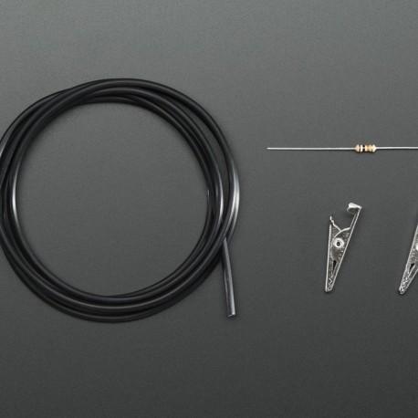 Conductive Rubber Cord Stretch Sensor + extras!