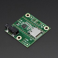 Audio Adaptor Board for Teensy 3.0 & 3.1 & 3.2