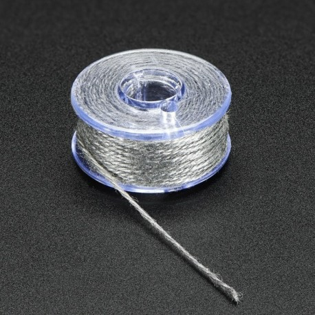 Stainless Thin Conductive Yarn / Thick Conductive Thread