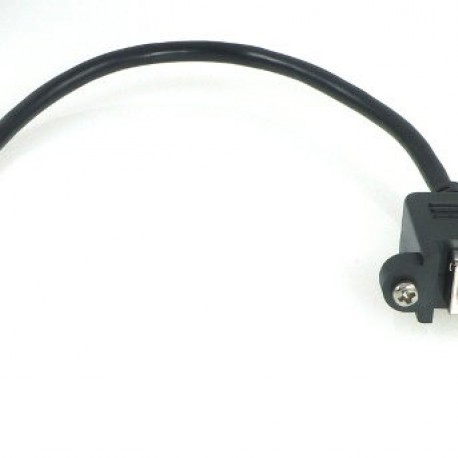 Cable USB, Micro-B al adaptador estándar-B montaje en panel