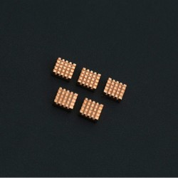 Pure Copper Heatsink Pack for LattePanda (5 pcs)