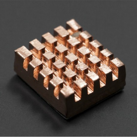 Self-adhesive Pure Copper Heatsink For Raspberry Pi