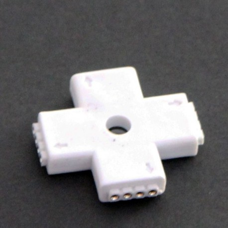 RGB 4 pin I type Connector For LED RGB Strip connecter to 90 180 360 degrees Both for 5050 3528 RGB Strip