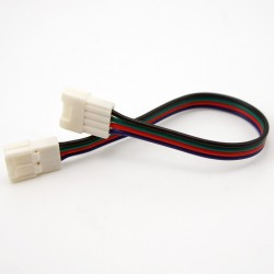 New 10mm 4PIN LED Strip lengthen solderless Connectors for 5050 RGB LED Strips