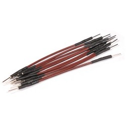 10 jumper wires 70mm male - male