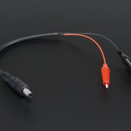 LED Strip Light DC Connector With Two alligator clip Lead DC Female