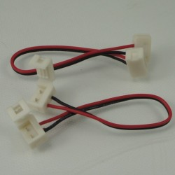 IP65 waterproof strip connector for 8MM SMD3528 LED Flex strip--strip to strip with wire