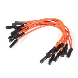 10 jumper wires 100mm female - female