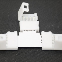 10MM T Shape Snap Down 5050/5630 LED Strip connector