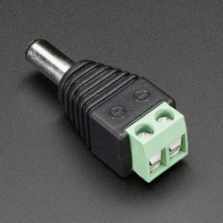 Easy Connector male For LED Strip Light 3528 /5050 connect dc Adapter Power Supply