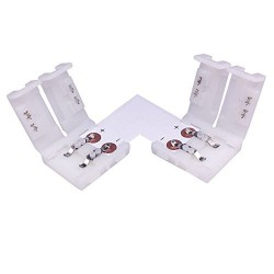 10MM L Shape Snap Down 5050/5630 LED Strip connector