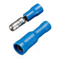 FRD(MPD)1-156 Male/Female Combo Wire Bullet Connector