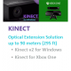Kinect V2 Optical Fiber Extension