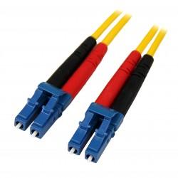 Fiber Optic Cable - Single-Mode Duplex 9/125 - LSZH - LC/LC - 7 m