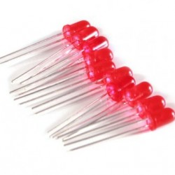 10xRed Led 5mm