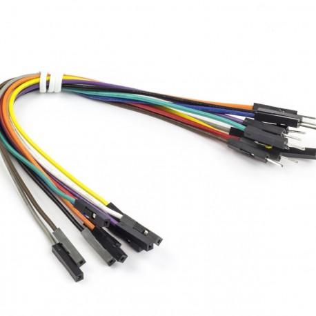 Wire Male/Female 10 pcs