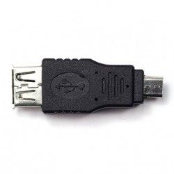 Micro USB Male to USB A Female Adapter