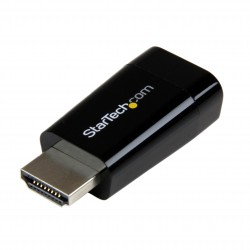 Compact HDMI to VGA Adapter Converter - Ideal for Chromebooks Ultrabooks & Laptops – 1920x1200/1080p