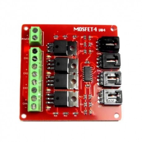 4 Route MOSFET Button