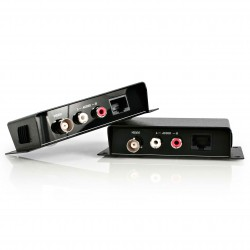 Composite Video Extender over Cat 5 with Audio