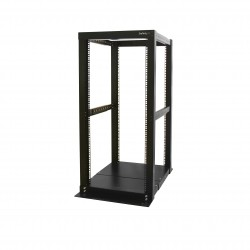 25U Adjustable Depth 4 Post Open Frame Server Rack Cabinet