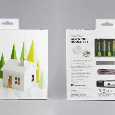 Glowing House Set Voltage Village