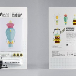 Flashing Card Set Celebration Circuit