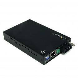 10/100 Mbps Single Mode Fiber Media Converter SC 30 km