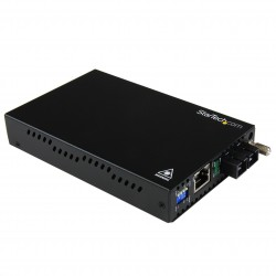 Gigabit Ethernet Multi Mode Fiber Media Converter SC 550m - 1000 Mbps