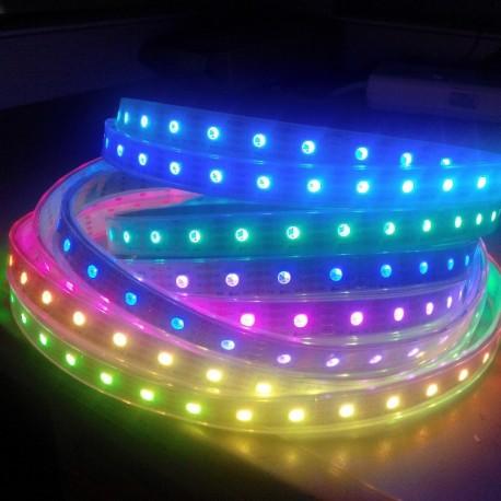 RGB digital led strip APA102 60 leds meter 72w